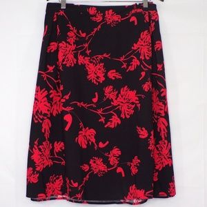 Who What Wear Floral Skirt, Sz 26W